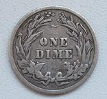 1 дайм / 10 центов 1905 г. США, серебро, фото №13