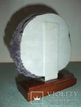 Агат полированный срез - жеода., фото №6