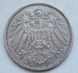 1 марка 1899 г. (А) Германия, серебро, фото №6