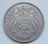 1 марка 1899 г. (А) Германия, серебро, фото №7