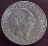 Талер, Ганновер 1839 A. Эрнст Август., фото №2