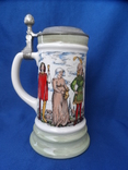Коллекционная пивная кружка Сюжетная BMF Германия 0,8 L, фото №2