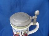 Коллекционная пивная кружка Сюжетная BMF Германия 0,8 L, фото №6