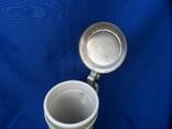 Коллекционная пивная кружка Сюжетная BMF Германия 0,8 L, фото №9