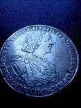 """Рубль 1725 года """"Солнечный"""" СПБ под портретом, над головой трилистник.R- R2, фото №7"""