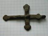 Натільний хрестик 6.5см., фото №5