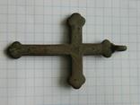 Натільний хрестик 6.5см., фото №7