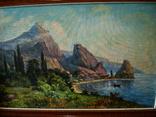 Крымский пейзаж х.м. 86х58см, фото №3