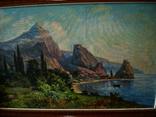 Крымский пейзаж х.м. 86х58см, фото №5