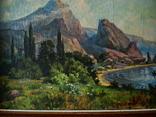 Крымский пейзаж х.м. 86х58см, фото №6