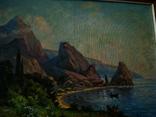 Крымский пейзаж х.м. 86х58см, фото №7
