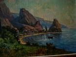 Крымский пейзаж х.м. 86х58см, фото №8