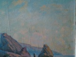 Крымский пейзаж х.м. 86х58см, фото №12