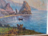 Крымский пейзаж х.м. 86х58см, фото №13