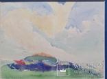 """Кульчицька Олена """"Фантазія"""",  папір, акварель, 17,9х23,7 см, фото №4"""