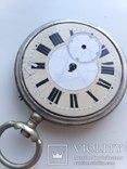 Швейцарские Старенькие Карманные часы, фото №4