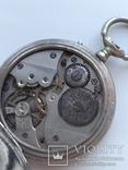 Швейцарские Старенькие Карманные часы, фото №11