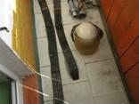 Каска пожарника ссср и 2 пояса и 2 наконечника на рукава, фото №12
