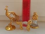 Изделия из хрусталя и металла с кристаллами, фото №3