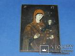 Смоленская присвятая богородица 28 на 21 товщ 1.9, фото №3