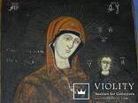 Смоленская присвятая богородица 28 на 21 товщ 1.9, фото №4