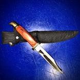 Нож финка ИТК ручная работа (зона), фото №2