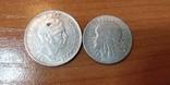 Серебряные монеты Польши и Румынии, фото №2