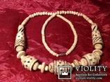 Ожерелье со сложной резьбой / кость /., фото №4