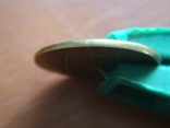25 копеек 1992г.чекан в негуртильного кольца, фото №4