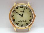 Часы Чайка позолота СССР Ау-10, фото №2