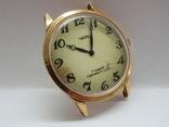 Часы Чайка позолота СССР Ау-10, фото №3
