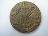 Настольная медаль «Карл Мария Вебер», фото №6