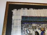 Картина сувенир папирус Египет, фото №4