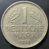 ФРГ. 1 марка 1966г. G (монетный двор Карлсруэ), фото №3