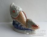 Салфетница Рыбка клеймо Коростень, фото №4