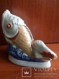 Салфетница Рыбка клеймо Коростень, фото №9