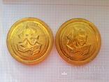 """Памятные медали 40 лет пионерскому лагерю """"Орлёнок"""", 2 шт., фото №3"""