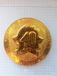 """Памятные медали 40 лет пионерскому лагерю """"Орлёнок"""", 2 шт., фото №4"""