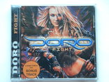 CD. DORO - Fight. Made in Germany., фото №2
