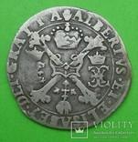 1/4 талера, 1616 год, Испания., фото №2