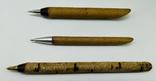Ручки эбонитовые 3 шт, итк зекпром СССР, фото №2