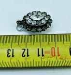 Серебренный кулон 5,34 грамм, двухсторонний с камнями., фото №9
