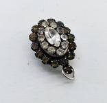 Серебренный кулон 5,34 грамм, двухсторонний с камнями., фото №11