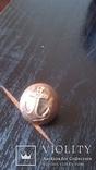 Пуговица моряка,позолота, фото №10