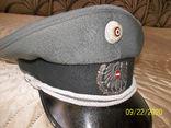 Фуражка  офицерская  австрийская  армия. раз. 58., фото №7