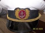 Фуражка  офицерская  морская., фото №3