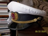 Фуражка  офицерская  морская., фото №2