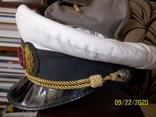 Фуражка  офицерская  морская., фото №8