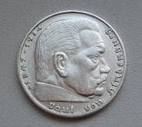 2 марки 1938 г. (G) Третий рейх, серебро, фото №6