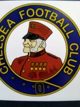 Виниловая наклейка FC Chelsea (Логотип 1905-1952), фото №3